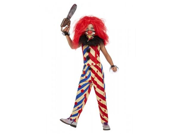 Creepy Clown Costume - Girls