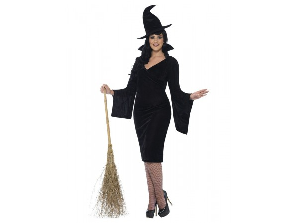 Curves Witch Costume, Black