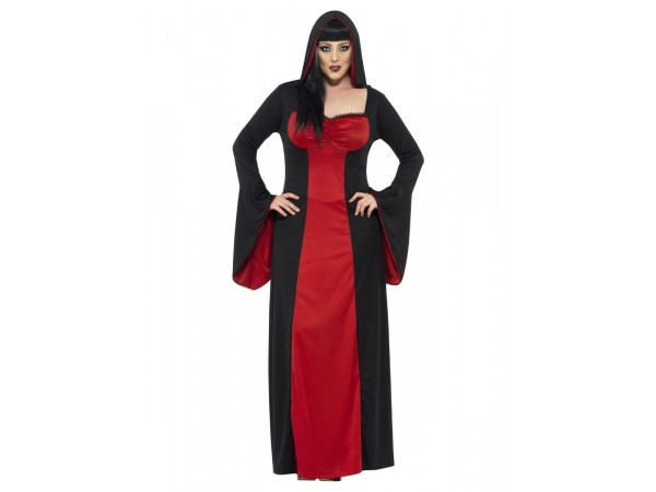 Dark Temptress Costume, Red