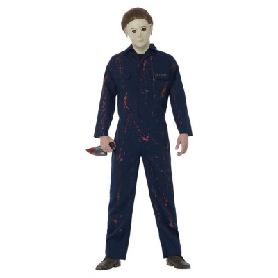 Halloween H20 Michael Myers Costume, Blue
