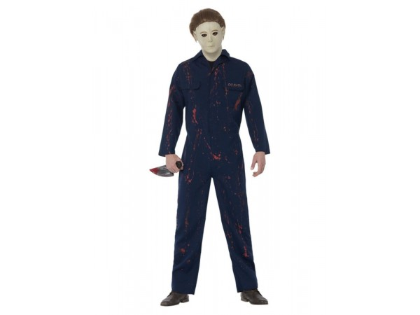 Halloween H20 Michael Myers Costume, Blue