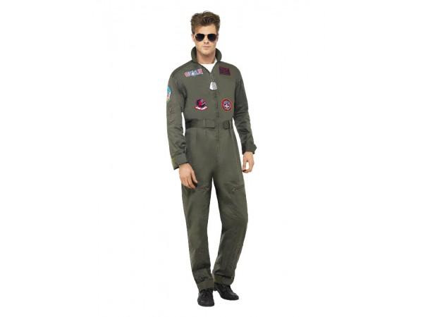 top gun fighter pilot costume