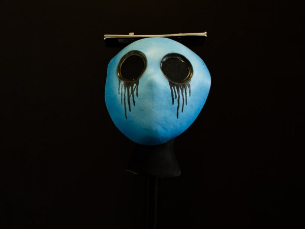 Creepy Pasta Eyelash Jack Latex Mask